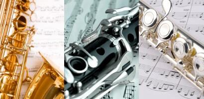 Noten für Holzblasinstrumente