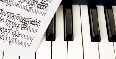 Noten f�r Klavier