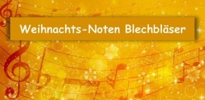 Weihnachtsnoten für Blechblasinstrumente Trompete Horn Posaune Bariton Tenorhorn Tuba