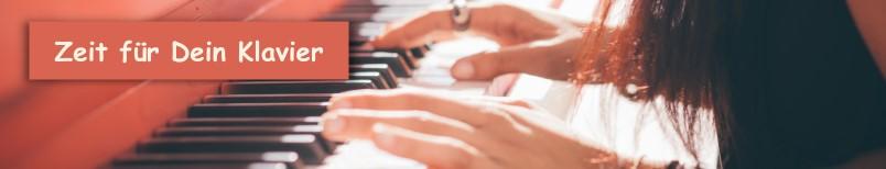 Zeit für Dein Klavier