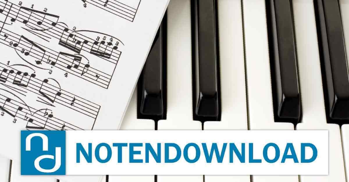 notendownload Musiknoten und Playbacks online drucken und ...